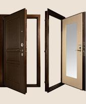 Дверь Гранит М3 (с зеркалом)