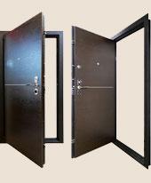 Дверь Гранит Т5 с замками Cisa