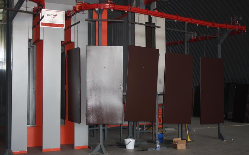 мини производство металлических дверей